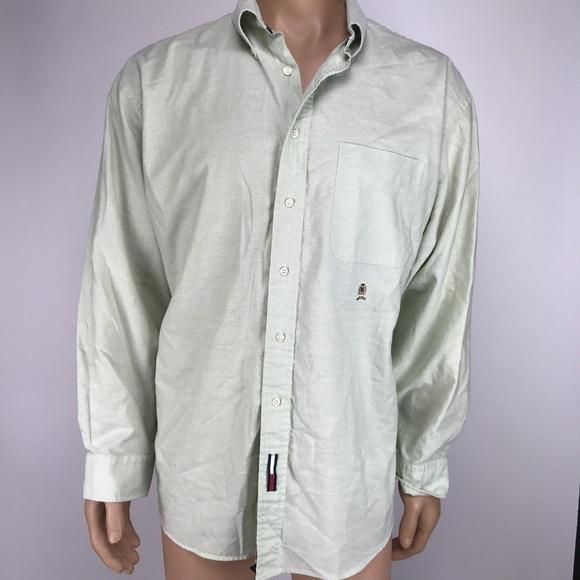 47e80a658 Tommy Hilfiger Original Oxford Shirt 17 1 2